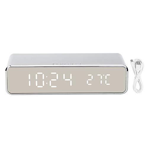 Reloj electrónico, Reloj de cabecera, Hotel inalámbrico del Dormitorio del Cargador para la Sala de Estar de la Oficina