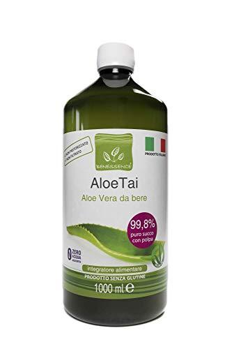 Jus et pulpe d'Aloe Vera à boire non pasteurisés et non filtrés - Fabriqués en Italie dans nos cultures