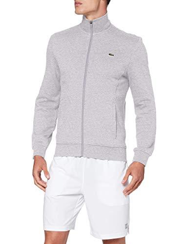 Lacoste SH1559 Sweatshirt, Argent Chine/Elephant, L Homme