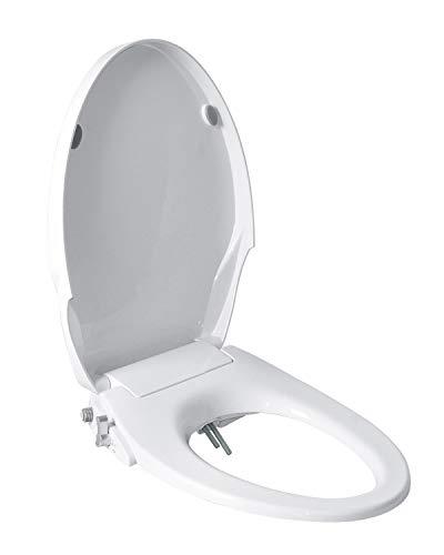 Toilet Seat Bidet with Dual Nozzles-Rear & Feminine Washing,Non Electric Bidet
