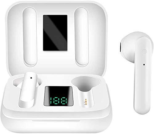 Bluetooth-Kopfhörer 5.0,Kabellose Kopfhörer IPX7 wasserdichte,Noise-Cancelling-Kopfhörer,Geräuschisolierung,mit 24H Ladekästchen und Mikrofon für Android2/iPhone/Samsung/Apple AirPods Pro