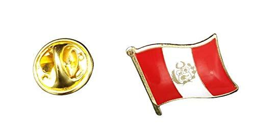 Speld vlag Mastil Peru 16 x 15 mm