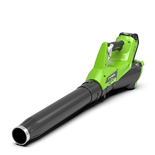 Greenworks 40V Leaf Dust Blower Cordless Axial Fan, No Battery Powered and Charger Included - 2400807