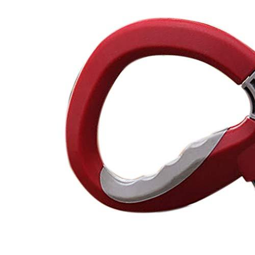 Masterein Entspannt Lebensmittel Tragegriff D Typ hängenden Ring Einkaufstasche Hebewerkzeug Solid Color