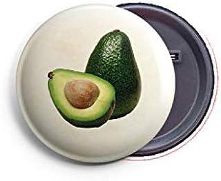 AVI Regular Size Fridge Magnet Beige Avacado Fruit for Kitchen 58mm Metal MR8002304