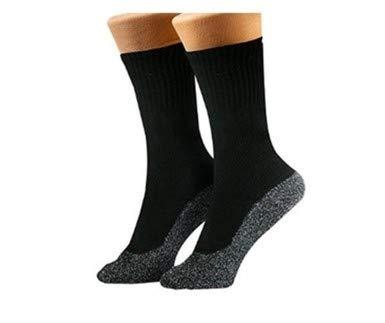 35 Below Thermal Winter Socks - 1 Pair, Aluminized Fibers, Comfortable, Multiple Colors (Black, X-Large)