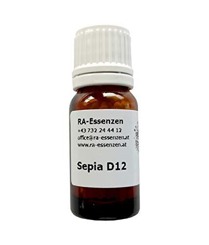 Sepia D12, 10g Bio-Globuli, radionisch informiert - in Apothekenqualität