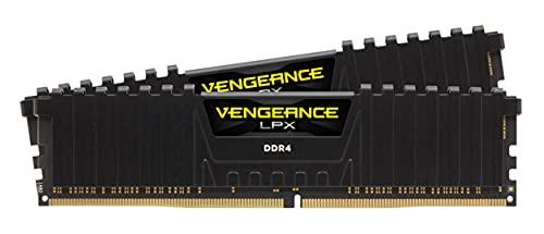 Corsair Vengeance LPX - Memoria da 64 GB (2 x 32 GB) DDR4 3200 (PC4-25600) C16 1,35 V, colore: Nero