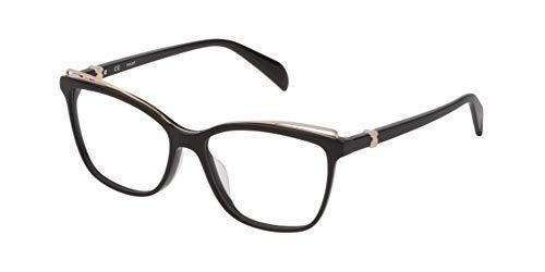 TOUS Vtoa59, Monturas De Gafas Mujer, Shiny Black (0700)