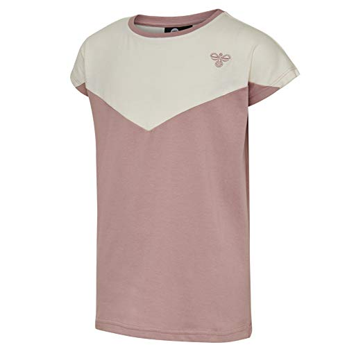 Hummel Kinder hmlCIETE T-Shirt S/S 128 Deauville Mauve