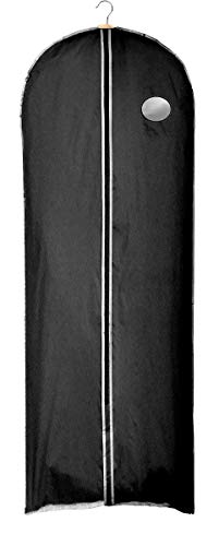 Clay Roberts Dress Bag, Black, Long Garment Covers - 60cm x 150cm
