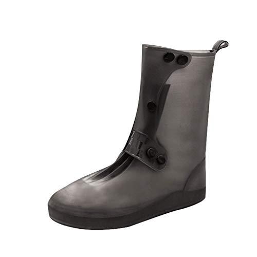TwoCC-Regenstiefel für Damen, lange Schlauch-Regenschutzhüllen für Herren und Damen im Freien, praktisch zum Tragen von rutschfesten und abriebfesten Bergsportschuhen, XL