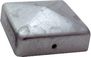 haebelholz 10 Stück Pfostenkappe Verzinkt 101x101 mm Pyramide