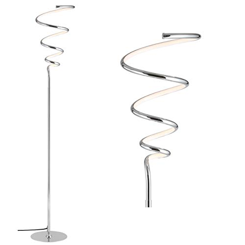 JONATHAN Y JYL7027A Scribble 60.5' Dimmable Metal Integrated LED Floor Lamp...
