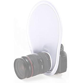Mekingstudio Fotografía Flash Reflector Difusor de Objetivo para ...
