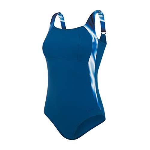 Speedo Dames LunaLustre Gedrukt Body Shaping Badpak/Zwemkostuum
