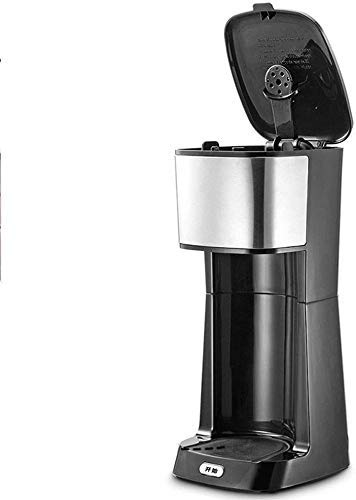 Busirsiz Coffee Machine, Compact Coffee Machine,Coffee Machine And Other Automatic Drinks-Black,650 W,Boil-Dry Protection, Anti-Drip Function,Automatic Turn-Off Feature,for espresso cooker