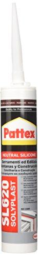 Pattex 1536097 SL 620/RAL 8014 Serramenti e Edilizia, 300 ml, Marrone