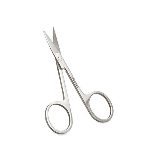 Augenbrauenschere, professionelles Präzisions-Trimmer-Augenbrauen-Wimpern-Haarentferner-Werkzeug, Edelstahl-Augenbrauen-Scheren-Make-up-Schönheits-Werkzeug für das Gesichtshaar, Falsche Wimpern