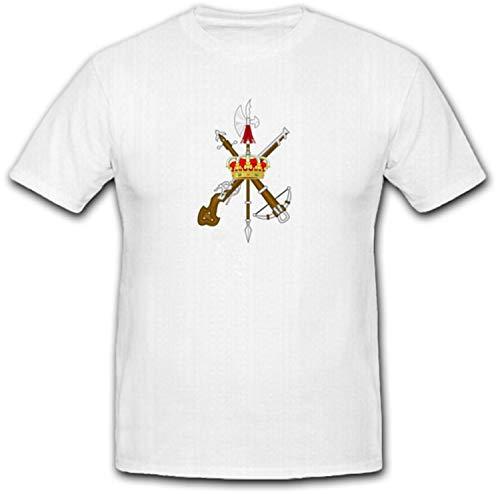 Emblema of the Spanish Legion Fremde Legion–Camiseta # 6630 Weiß Large