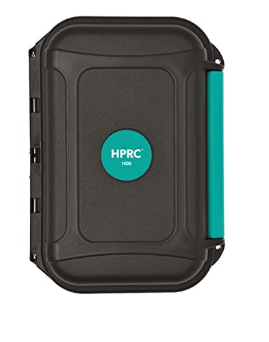 Maleta de resina HPRC 1400 con esponja
