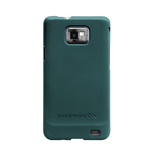 BarelyThere Case for Samsung i9100 Blue rubber