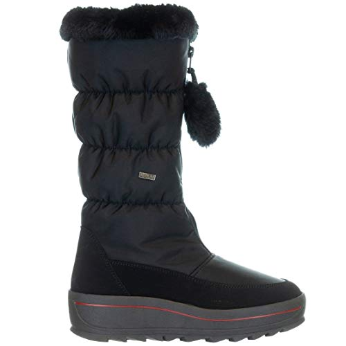 PAJAR Canada Kids Toboggan Winter Boots Black Metal EU 34/US 3