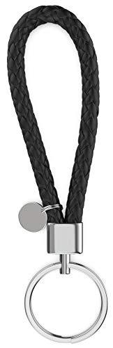 Schlüsselanhänger Leder - edles Design - auch geeignet als Geschenk für Beste Freundin, Freund, Mann, Frauen, Herren, Partner Geschenke, Gravur, Freundschaft