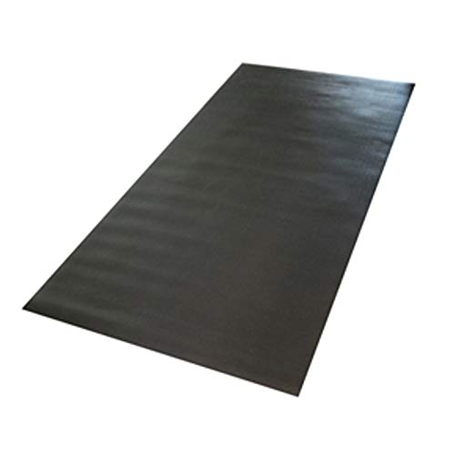 Confidence Fitness Rubber Mat for Treadmills and Other Gym Equipment, 6ftx2.5ft