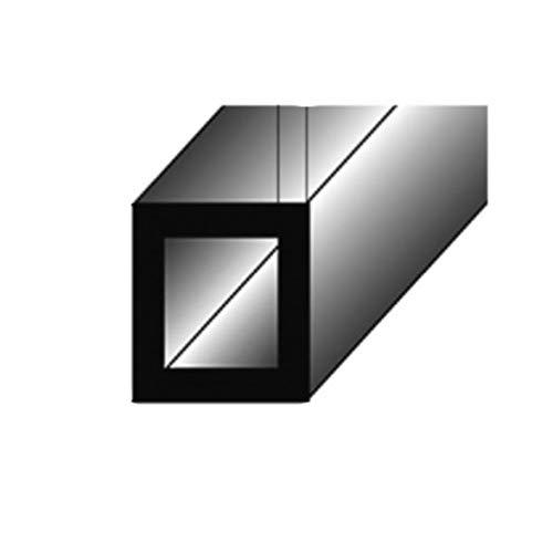 1 mètre Tube carré / Profilé de montage, 30 x 30 x 3 mm, en aluminium