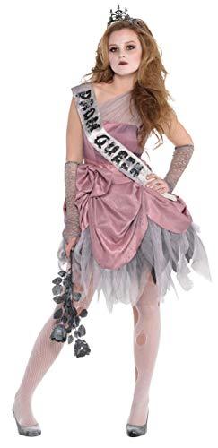 amscan- Déguisement-Fille-Reine de Promo Halloween, 845588-55, 8-10 Ans