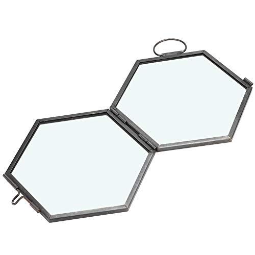 minifinker Clip de Muestra, Marco de Fotos de Vidrio Negro para Sala de Estar para Dormitorio