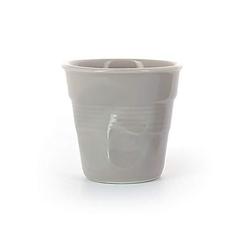 Revol - Tasse cappuccino unie en porcelaine Couleur - Taupe, Tailles - H. 8,5 x Ø 8,5 cm - 18 cl