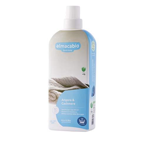 Almacabio Detergente Liquido per Angora e Cashmere in Lavatrice e a Mano 1L