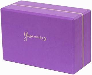 ヨガワークス(Yogaworks) ヨガブロックB 2個セット オーキッド YW-E422-C114