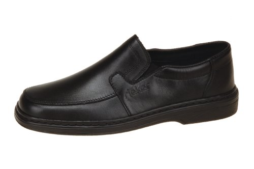 Rieker 15070-00 Herren Slipper, EU 46 (US 12, UK 11), schwarz