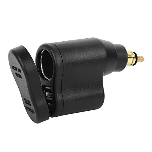 12V Motorrad Dual USB Zigarettenanzünder Wasserdicht Motorrad 3.3A Ladegerät Adapter