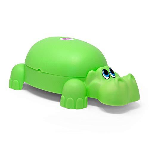 OKBABY Ippopotamo - Vasino per Bambini con Seduta Ergonomica, a Forma di Animale - Verde