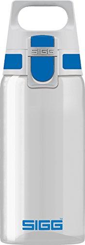 Sigg Total Clear ONE Blue, Sport Trinkflasche, 0.5 L, Tritan, BPA frei, Blau