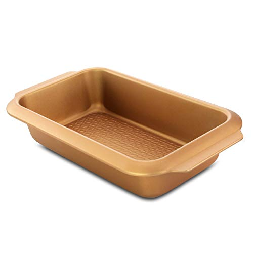 Unknown1 Country Kitchen 13.8 Inch Carbon Steel Loaf Pan in Copper Orange Rectangle 1 Piece