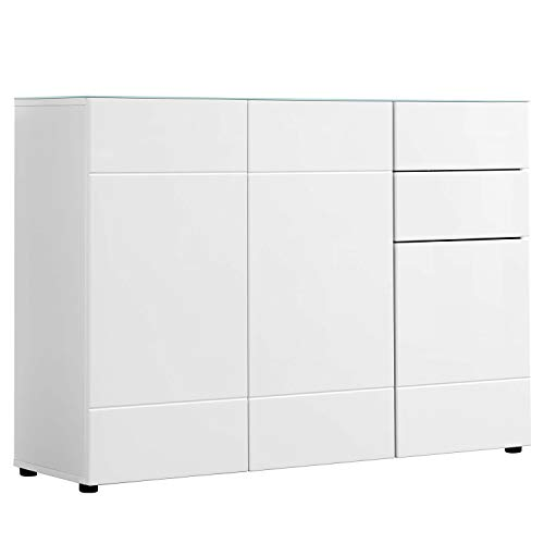 mokebo® Kommode 'Die Elegante', m&NES Sideboard & Highboard, Made in Germany | 117x81x34 (B/H/T in cm)