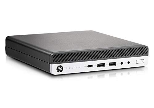 HP EliteDesk 800 G3 Desktop Mini USDT Intel Quad Core i5 256GB SSD Festplatte 8GB Speicher Windows 10 Pro inkl. W-LAN Business Desktop Computer Mini PC (Generalüberholt)