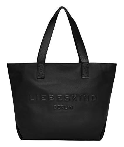 Liebeskind Berlin Hannah Shopper, Medium (33 cm x 49 cm x 18cm), black