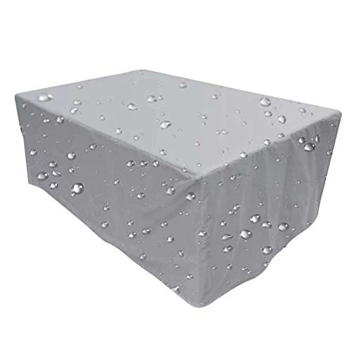YANGJUNXI Garden Furniture Covers, rattan garden furniture sets, patio furniture covers waterproof, garden table cover, outdoor table cover, Windproof and Anti-UV, for Sofas and Chairs-230*165*80cm