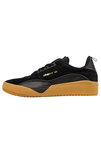 adidas Skateboarding Liberty Cup, Core Black-Gold Metallic-Gum, 10,5 ✅