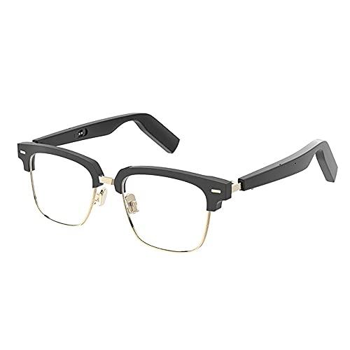 Z&HA Gafas Inteligentes Gafas De Sol Bluetooth Inalámbrico Bluetooth Open Ear Music Y Llamadas De Manos Libres, para Hombres Y Mujeres, Lentes Polarizadas, Conectan Teléfonos Móviles Y Tabletas