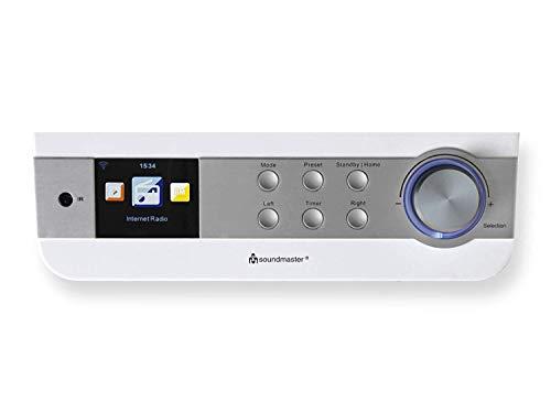 Soundmaster IR1450WE Internetradio für den Küchenunterbau oder als Standgerät