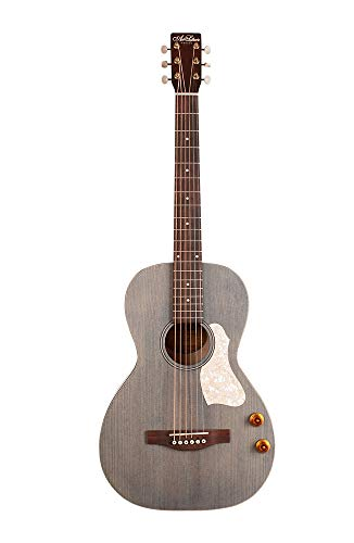 Art & Lutherie Roadhouse Q-Discrete Parlor Guitar | Denim Blue