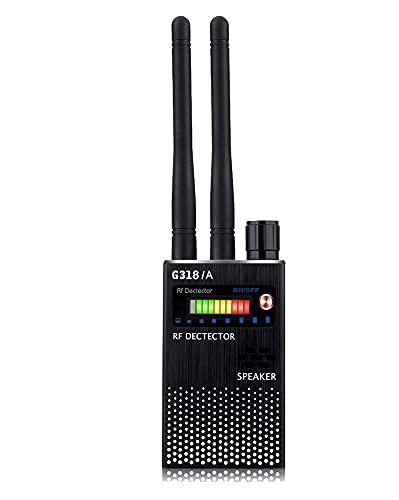 Detector GPS Detector de Doble Antena Anti-espía Detector de Insectos inalámbricos WiFi Finder de señal de teléfono móvil Proteger privacidad Detector de Coches