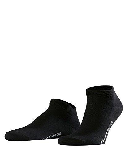 FALKE Herren Sneakersocken Cool 24/7 - 80{75a0c2abd62039628e45c97cfef8acb209e9eec8c038e242614d143ee5dc5efa} Baumwolle, 1 Paar, Schwarz (Black 3000), Größe: 43-44